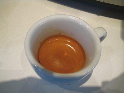 Ein Espresso mit der Graef ES 90 zubereitet