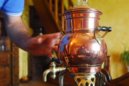 Eine alte Caffèttiera