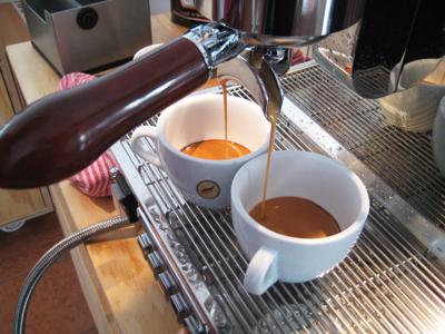 Elektra Sixties Deliziosa T1 Espressoauslauf