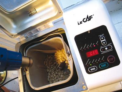 Kaffee selbst rösten in einer alten Microwelle