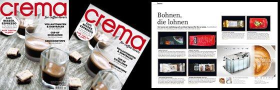 bohnen die lohnen crema nr 14 crema magazin. Black Bedroom Furniture Sets. Home Design Ideas