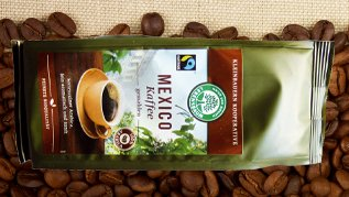 Lebensbaum Kaffeepackung