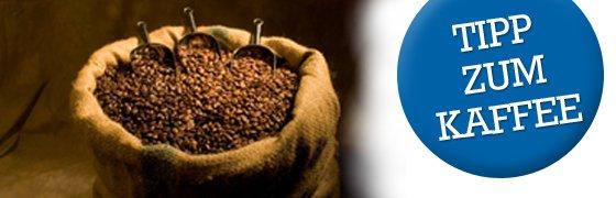 Aufbewahrungszeit des Kaffees