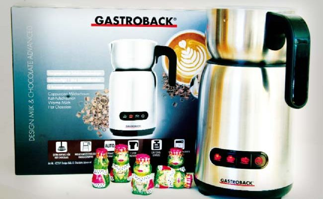 Im Test: Design Milk & Chocolate Advanced von Gastroback