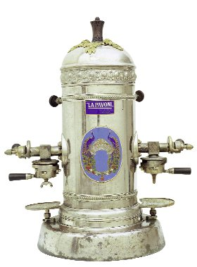 Die erste Espressomaschine von La Pavoni