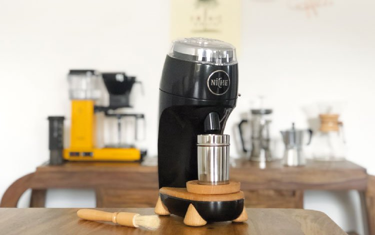 Tragbar Camping Manuell Edelstahl Kaffee Mühle Konische Kurbel Praktisch