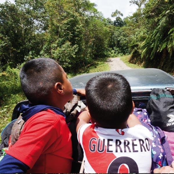 Fahrt zu einer Kaffeefarm in Peru